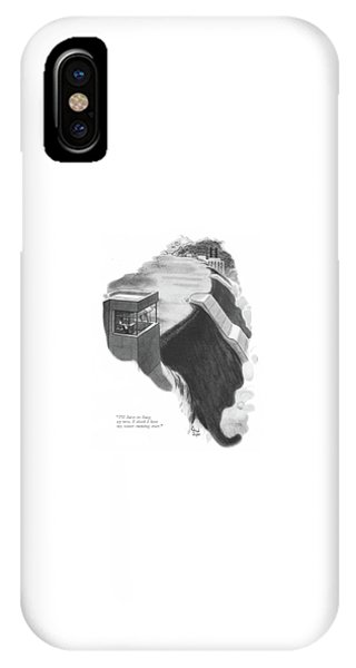 I'll Have To Hang Up Now. I Think I Hear My Water IPhone Case