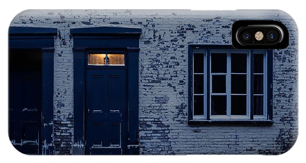 Quebec City iPhone Case - I'll Leave The Light On For You by Edward Fielding