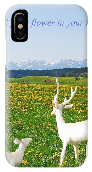 I'll Put A Flower IPhone Case