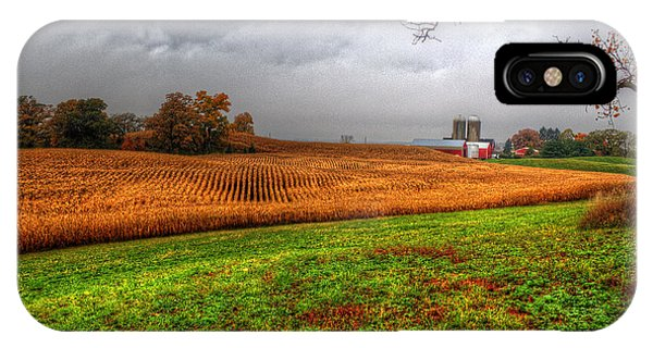 Illinois Farmland I IPhone Case