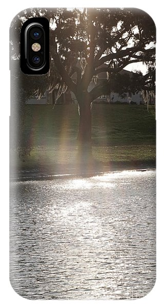 Illuminated Tree IPhone Case