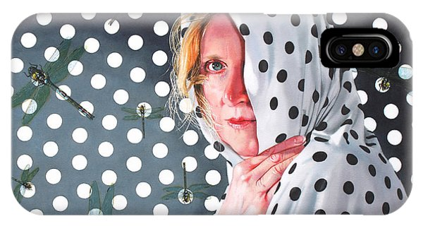 Hyper Realism iPhone Case - Illusion by Denny Bond