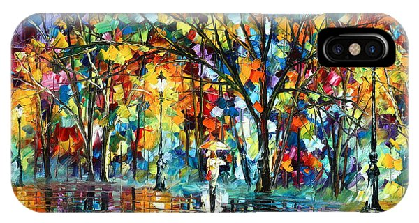 Afremov iPhone X Case - Illusion  by Leonid Afremov