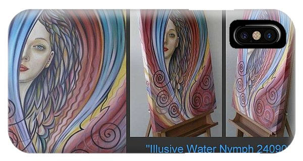 Illusive Water Nymph 240908 IPhone Case