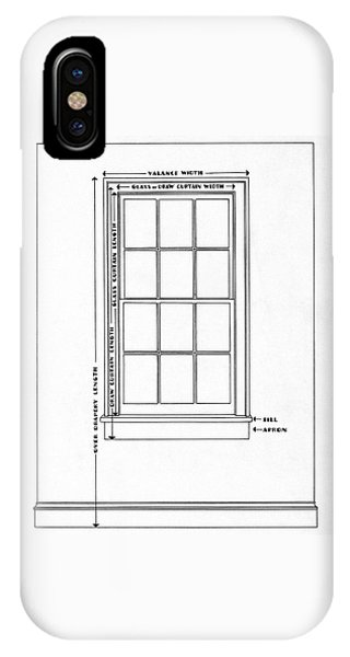 Illustration Of A Window IPhone Case