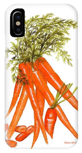 Illustration Of Carrots IPhone Case