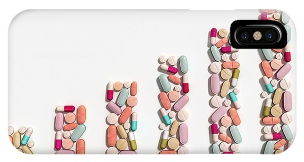 Illustration Of Rising Cost Of Prescription Drugs Phone Case by Fanatic Studio / Science Photo Library