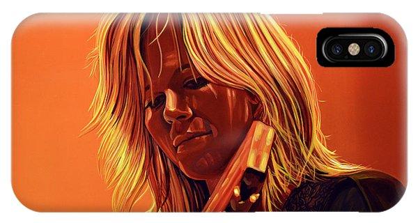 Escape iPhone Case - Ilse Delange Painting by Paul Meijering