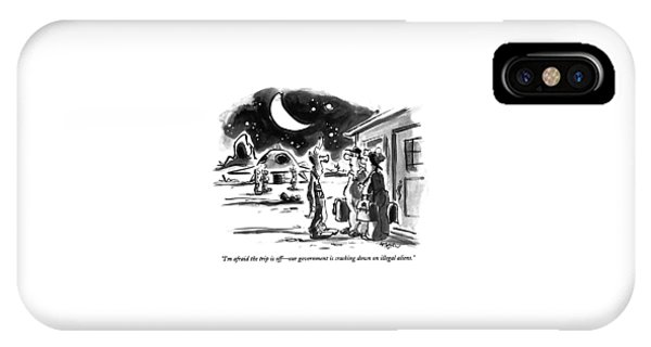 I'm Afraid The Trip Is Off - Our Government IPhone Case