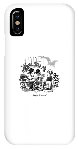 I'm For The Owners IPhone Case
