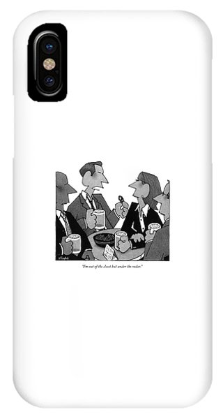 I'm Out Of The Closet But Under The Radar IPhone Case