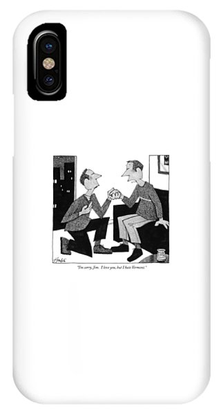 I'm Sorry, Jim.  I Love You, But I Hate Vermont IPhone Case