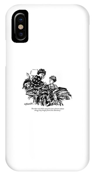 I'm Their Real Child IPhone Case