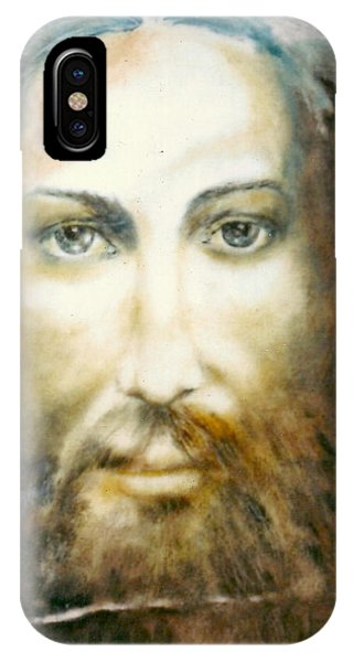 Altruism iPhone Case - Image Of Christ by Henryk Gorecki