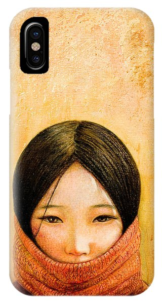 Child iPhone Case - Image Of Tibet by Shijun Munns