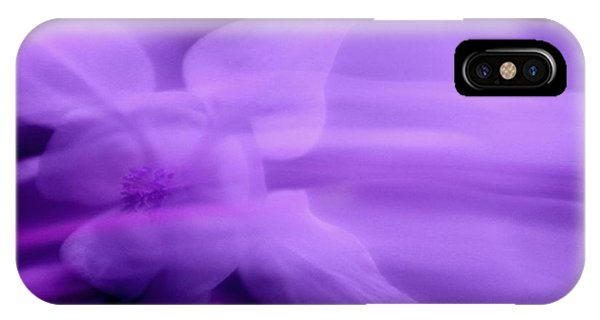 Imagination In Purple IPhone Case