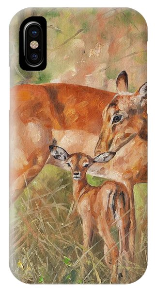 Impala Antelop IPhone Case