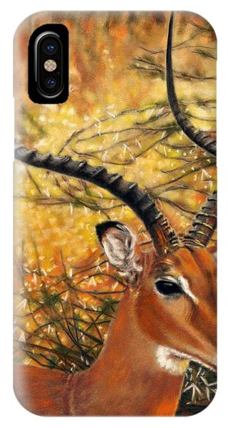 Impala At Sunset IPhone Case