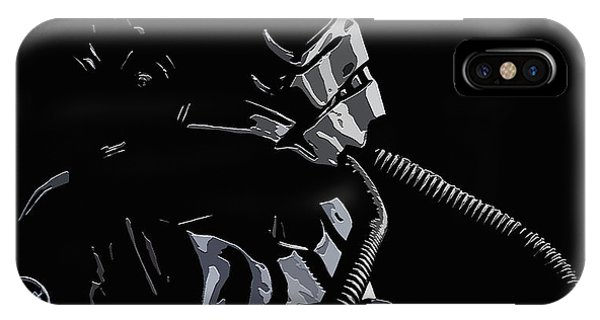 Imperial Tie  Pilot 2 IPhone Case