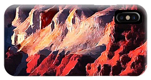 Impression Of Capitol Reef Utah At Sunset IPhone Case