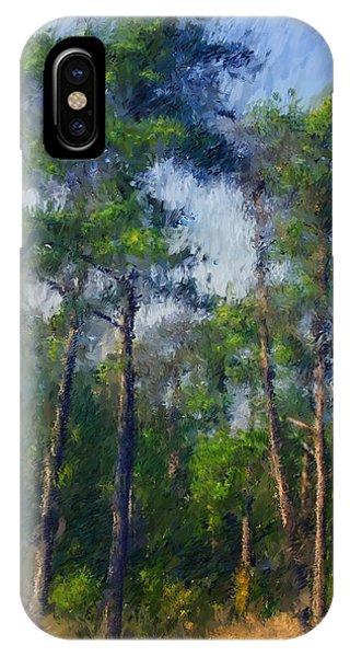 Impression Trees IPhone Case