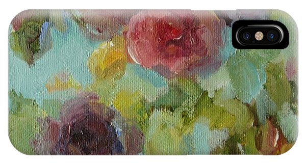 Impressionist Floral  IPhone Case