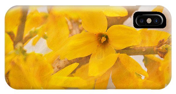 Impressionist Forsythia IPhone Case