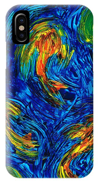 Impressionist Koi Fish By Sharon Cummings IPhone Case