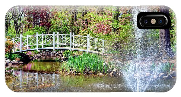 Bucolic iPhone Case - Impressionist Sayen Garden by Olivier Le Queinec