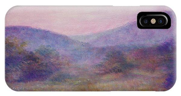 Impressionistic Foggy Summer Morning  IPhone Case