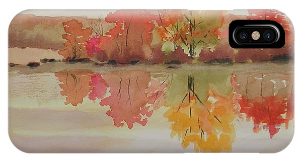 Impressions Of Fall IPhone Case