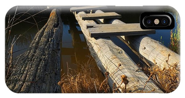 Improvised Wooden Bridge IPhone Case
