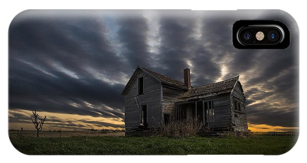 Abandoned Houses iPhone Case - In A Past Life by Aaron J Groen