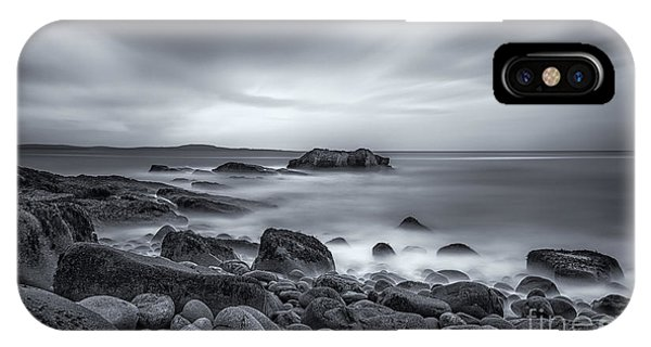 New England Coast iPhone Case - In A Tidal Wave Of Mystery by Evelina Kremsdorf