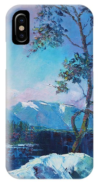 In Blue Mood IPhone Case