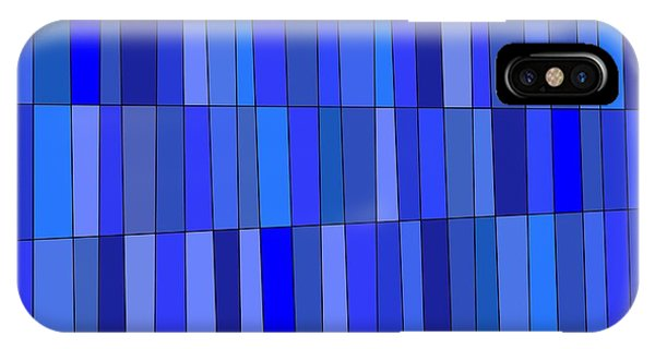 In Blue Please IPhone Case