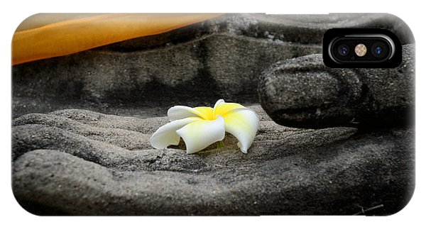 In Buddha's Hands II IPhone Case