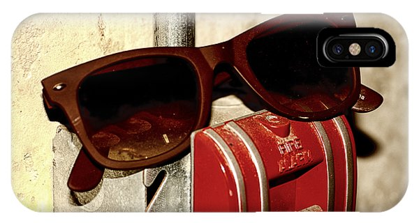 In Case Of Fire Grab Shades IPhone Case
