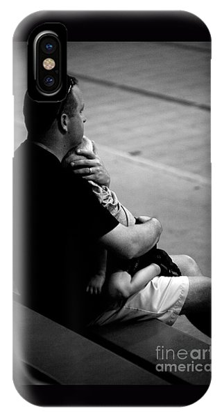 In Daddy's Arms IPhone Case