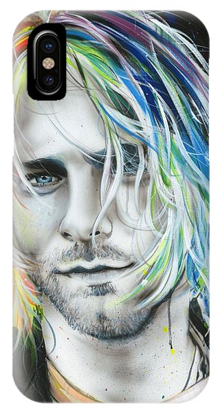 Rock And Roll Art iPhone Case - In Debt For My Thirst by Christian Chapman Art