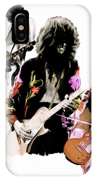 In Flight Iv Jimmy Page  IPhone Case