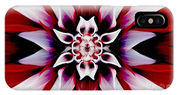 Close Up Floral iPhone Case - In Full Bloom by Jon Neidert