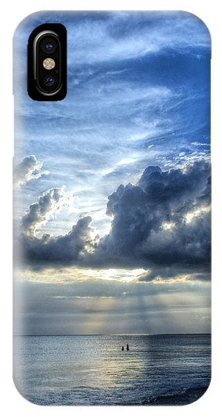 Sunset iPhone Case - In Heaven's Light - Beach Ocean Art By Sharon Cummings by Sharon Cummings