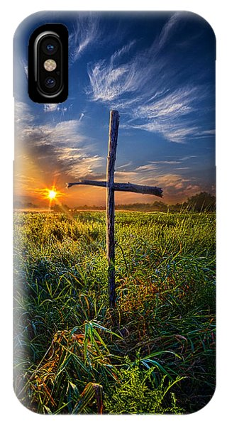 Inspirational iPhone Case - In His Glory by Phil Koch