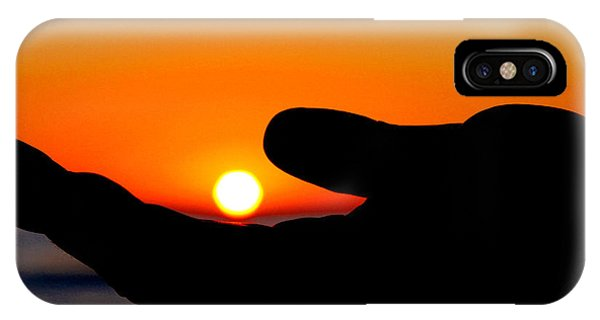 In His Hands By Diana Sainz IPhone Case