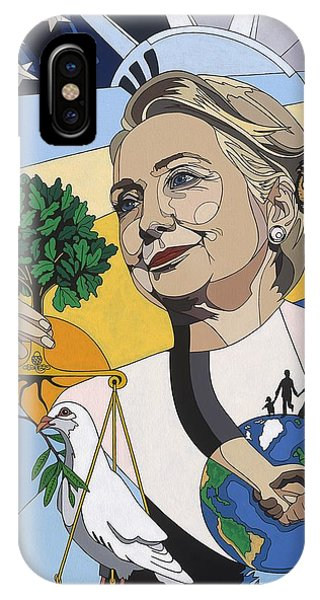 In Honor Of Hillary Clinton IPhone Case