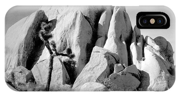 In Joshua Tree National Monument 1942 Phone Case by Ansel Adams