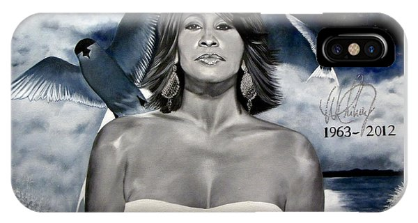 In Memory Of...whitney Houston IPhone Case