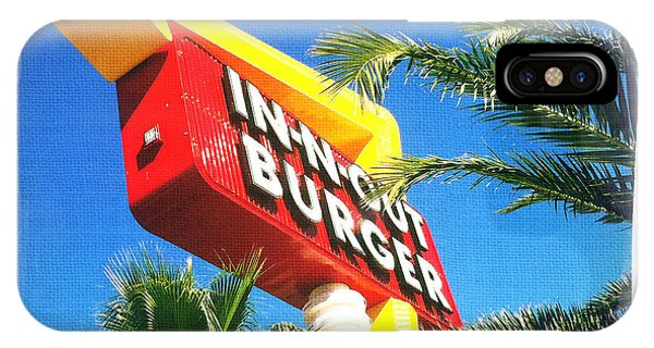 In-n-out Burger IPhone Case
