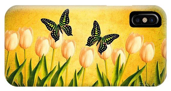 Edward iPhone Case - In The Butterfly Garden by Edward Fielding